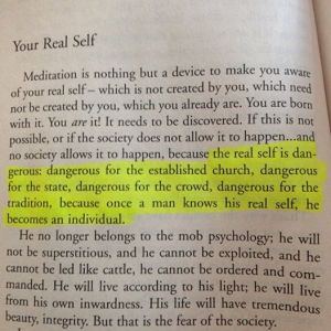 Be Dangerous! (Meditation by Osho)